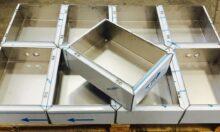 Lemezmegmunkálás élhajlítás elektromos szekrény