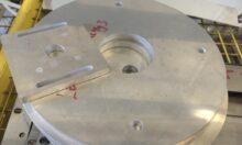 10mm Alumínium lézervágás